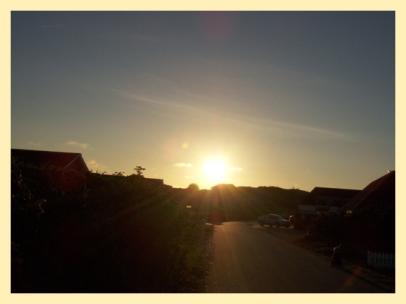 Sonnenaufgang im Norden...