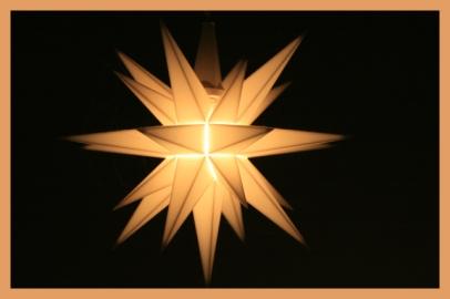 Elektrisches Licht, dennoch schön :-)