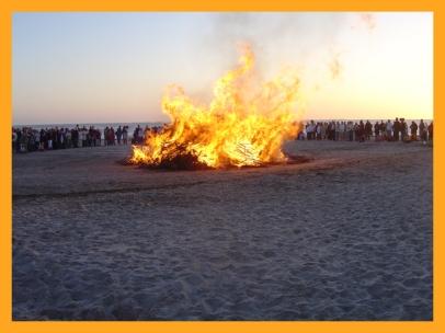 Das große Feuer (ein ganz ursprüngliches Licht)