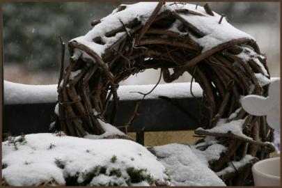 Verschneite Winterwelt