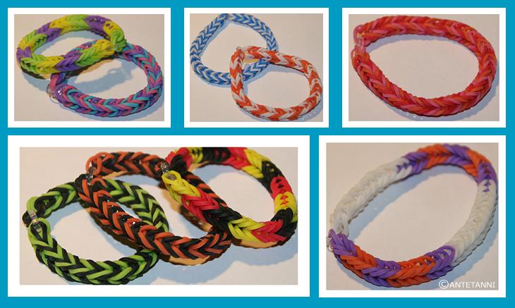 Rainbow Loom Armband Antetanni Bastelt Anleitung Antetanni