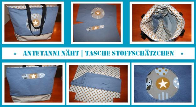 antetanni-naeht_Tasche-Shopper-Farbenmix-Stoffschaetzchen_2
