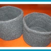 Filzkorb | antetanni strickt und filzt (Utensilo, Korb)