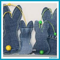 Hasen Anhänger Jeans | antetanni näht