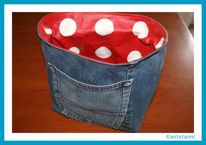 utensilo aus jeans antetanni n ht antetanni. Black Bedroom Furniture Sets. Home Design Ideas