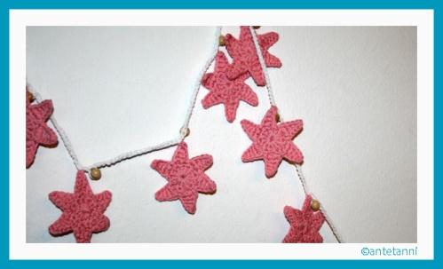 antetanni-haekelt_Sternen-Girlande_Garland-Stars_Rosa-Pink (2)