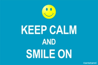 antetanni-sagt-was_Keep-calm-and-smile-on