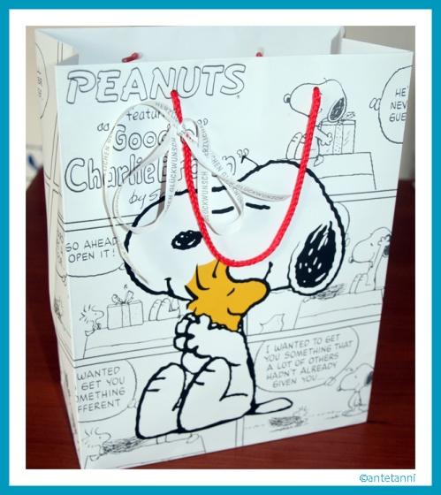 antetanni-sagt-was_Snoopy+Woodstock_Geschenkverpackung