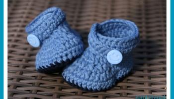 Baby Booties Blue Whale Antetanni Häkelt Anleitung Antetanni