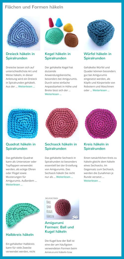 Flächen Formen Häkeln Antetanni Entdeckt Anleitung Antetanni