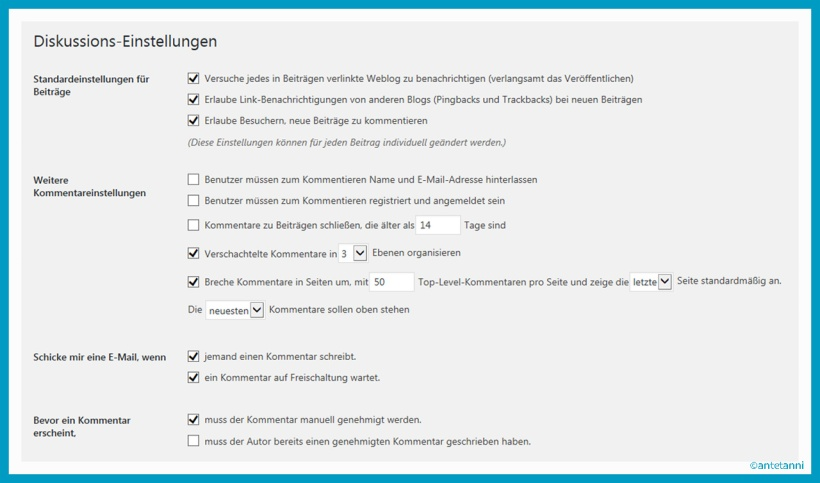 antetanni-sagt-was_wordpress-einstellungen_kommentarfunktion