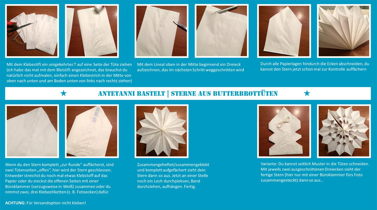 Sternenhimmel Aus Papier Antetanni Bastelt Anleitung Antetanni