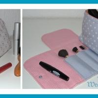 Schnittmuster Kosmetiktasche Pinselfach | antetanni entdeckt (Anleitung)
