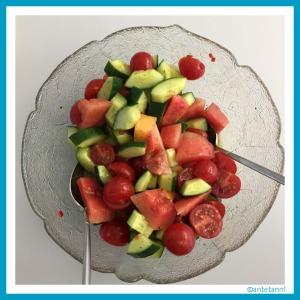 tomaten melonen salat mit minze antetanni kocht antetanni. Black Bedroom Furniture Sets. Home Design Ideas