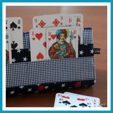 antetanni-naeht-Spielkartenhalter-Kartenhalter-Blau-Q