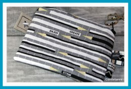 antetanni-naeht-Handgelenktasche-Karo-Farbenmix-Taschenspieler-1_Pencils