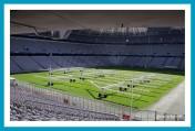 Allianz Arena, Innenraum, Rasenbeleuchtung ©antetanni