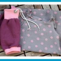 Kleid und Pumphose Musselin | antetanni näht