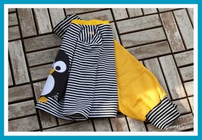 antetanni-naeht-Hose-Pumphose-Babyshirt-Ringelshirt-Shirt-74-Knopfleiste-Klimperklein_2018-09