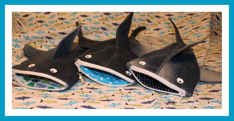 antetanni-naeht-Hai-light-Maeppchen-blau-Fische-Punkte-Sterne