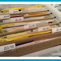 Wohin mit Bildern, Grußkarten, Kinderzeichnungen und Co. | antetanni sagt was