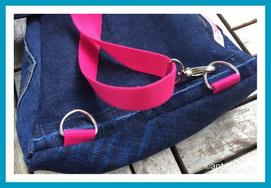 antetanni-naeht-rucksack-crossbag-jeans-pretty-in-pink_Karabiner-D-Ringe
