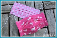 antetanni-naeht-gesichtsmasken-pink-bambi-polkadots-punkte-rosa